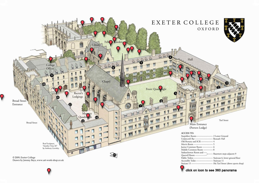 Map-Exeter-College---Landscape-Colour